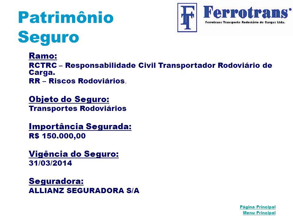 Patrimônio Seguro Ramo: