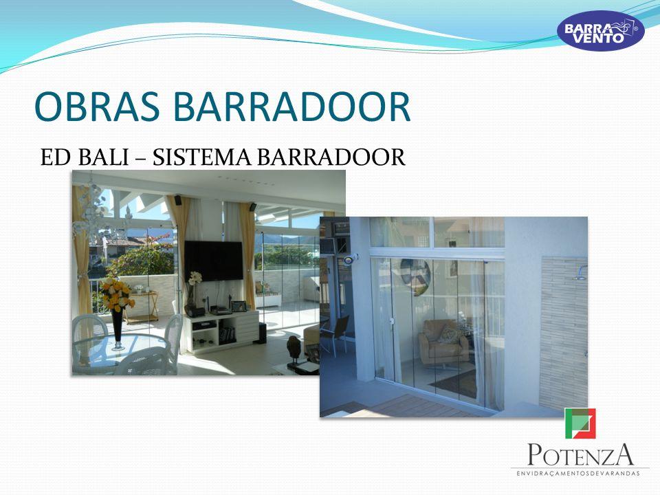 OBRAS BARRADOOR ED BALI – SISTEMA BARRADOOR