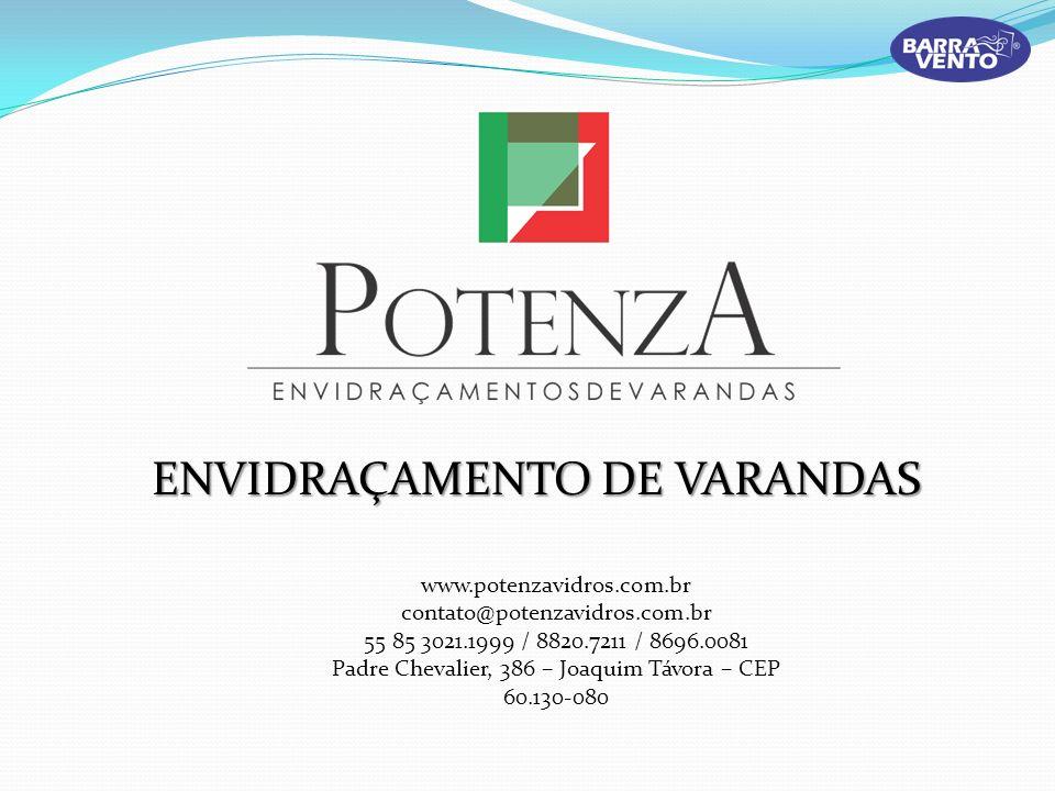 ENVIDRAÇAMENTO DE VARANDAS