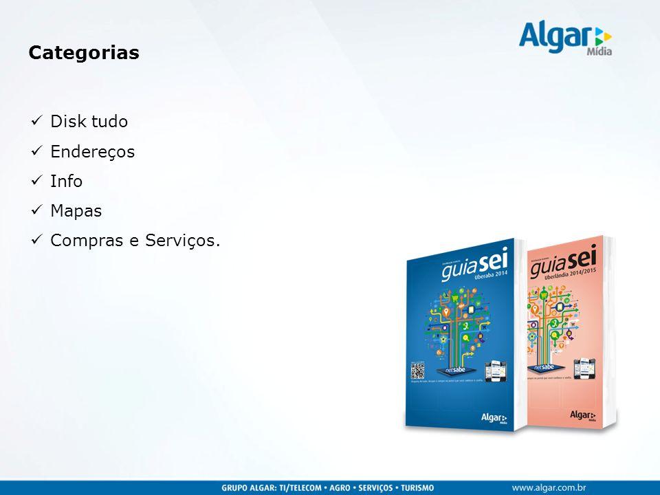 Categorias Disk tudo Endereços Info Mapas Compras e Serviços.
