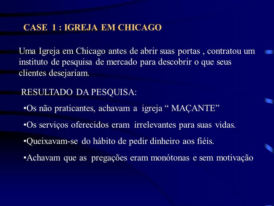 CASE 1 : IGREJA EM CHICAGO