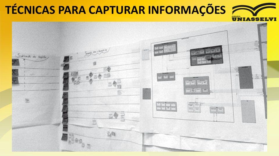 TÉCNICAS PARA CAPTURAR INFORMAÇÕES