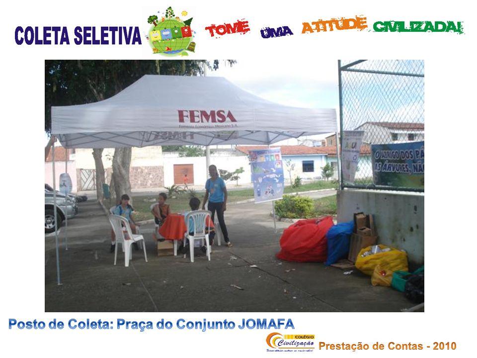 Posto de Coleta: Praça do Conjunto JOMAFA