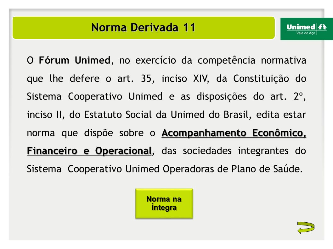 Norma Derivada 11