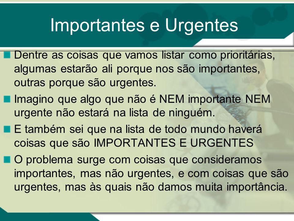 Importantes e Urgentes