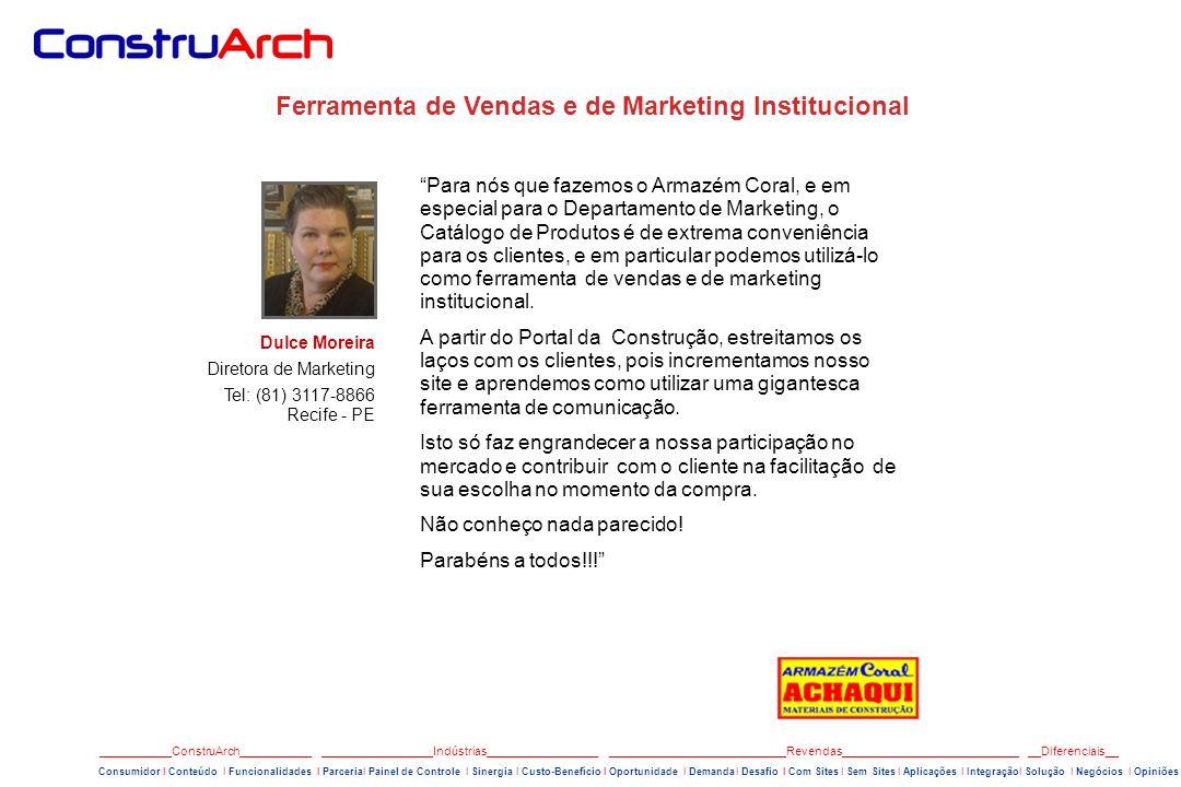 Ferramenta de Vendas e de Marketing Institucional