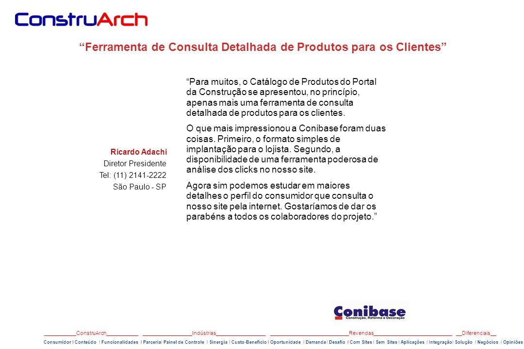 Ferramenta de Consulta Detalhada de Produtos para os Clientes