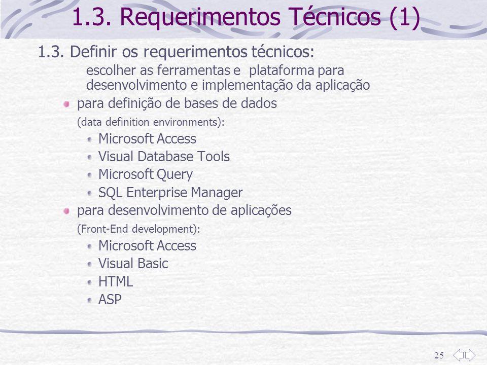 1.3. Requerimentos Técnicos (1)