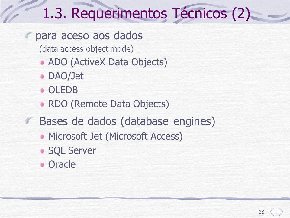 1.3. Requerimentos Técnicos (2)