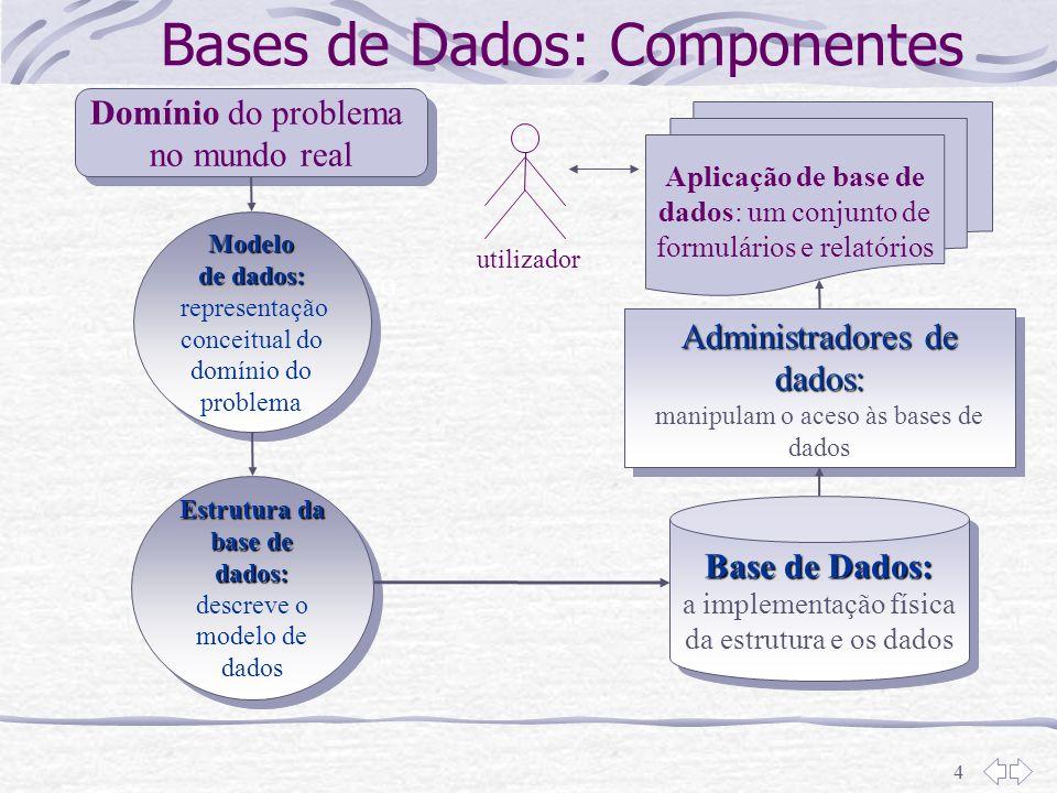 Bases de Dados: Componentes