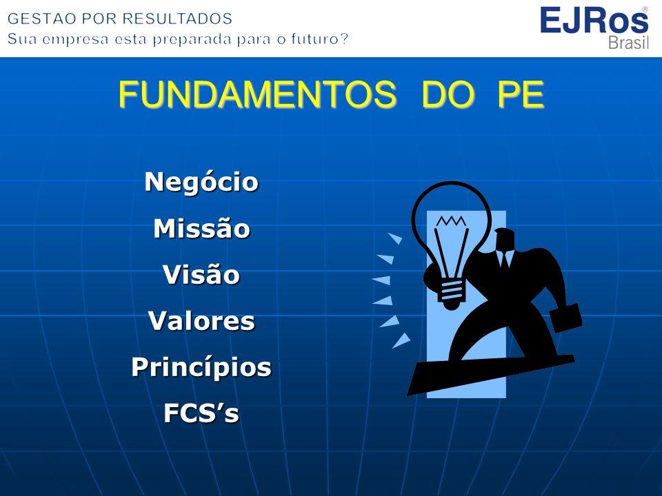 Negócio Missão Visão Valores Princípios FCS's