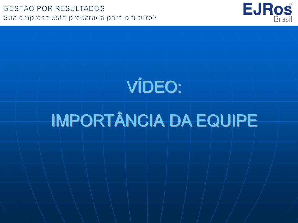 VÍDEO: IMPORTÂNCIA DA EQUIPE