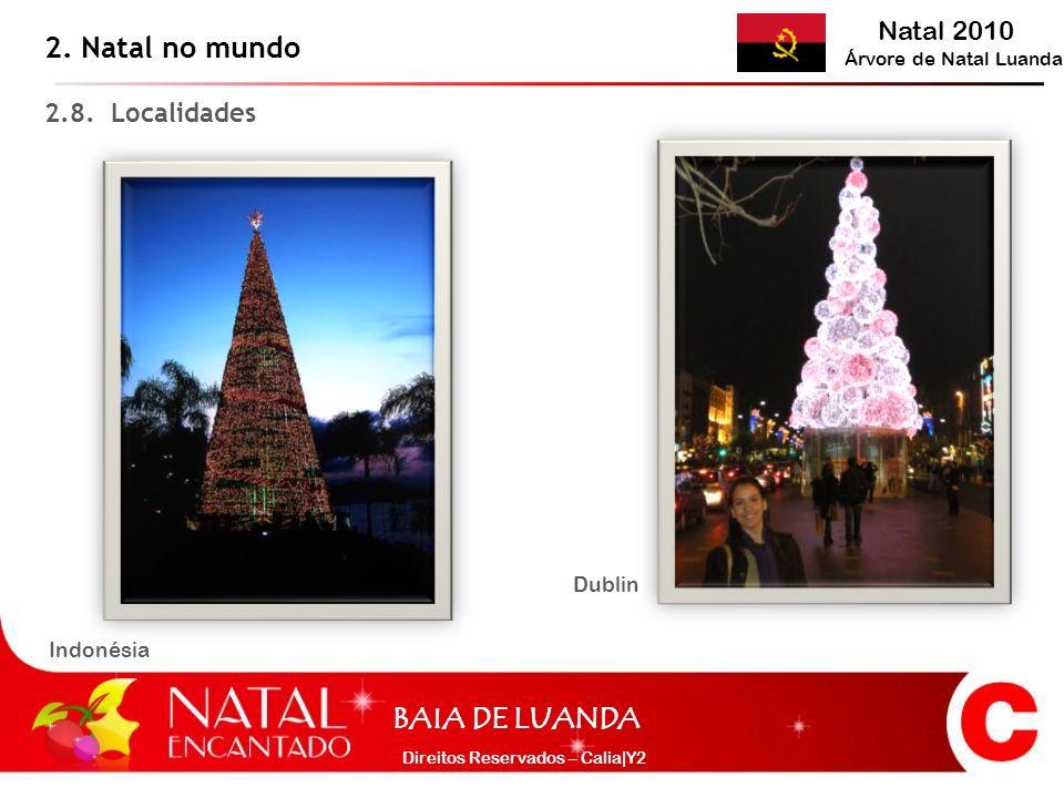 2. Natal no mundo 2.8. Localidades Dublin Indonésia