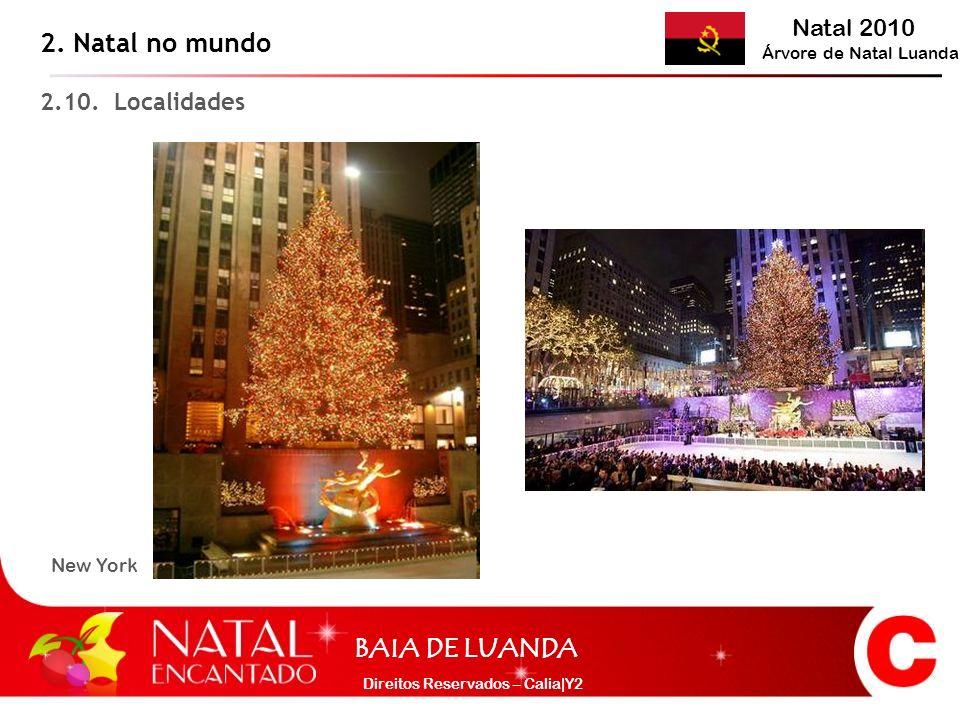 2. Natal no mundo 2.10. Localidades New York