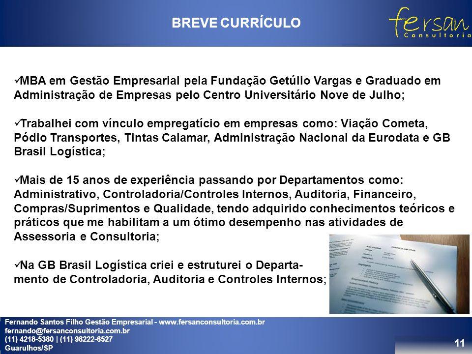 BREVE CURRÍCULO