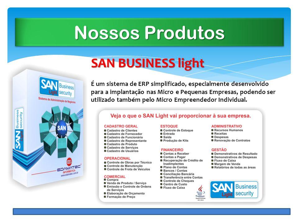 Nossos Produtos SAN BUSINESS light