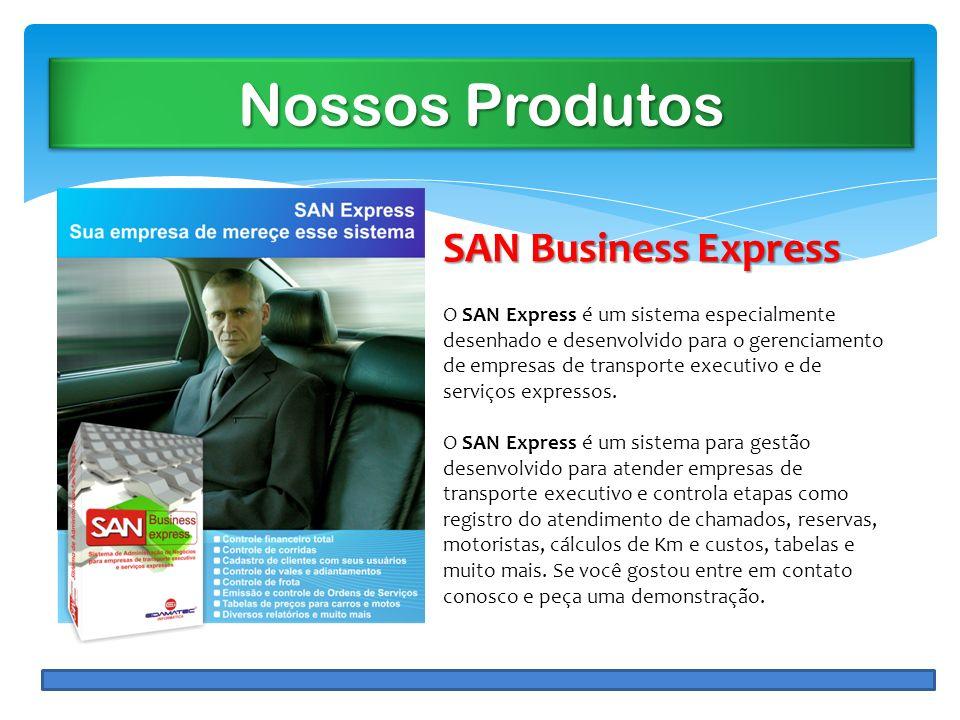 Nossos Produtos SAN Business Express