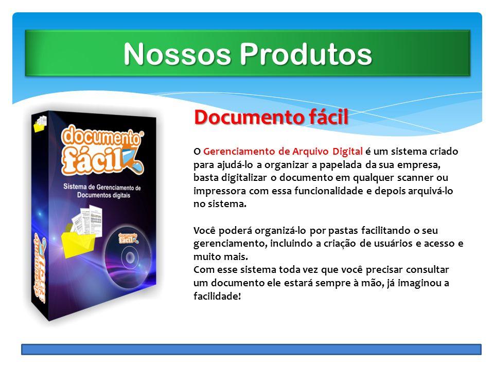 Nossos Produtos Documento fácil