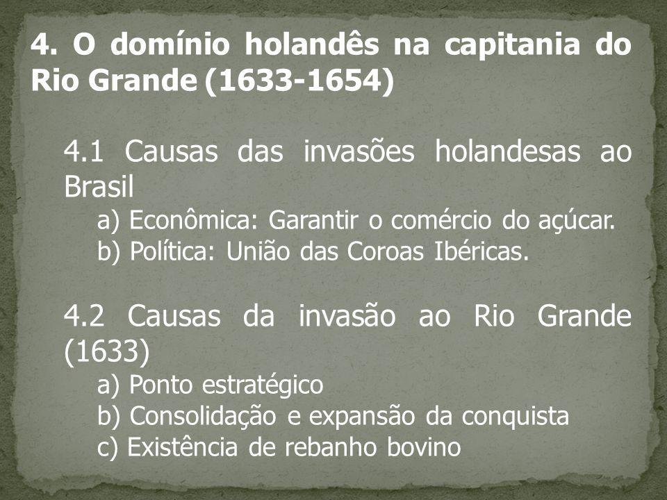 4. O domínio holandês na capitania do Rio Grande (1633-1654)