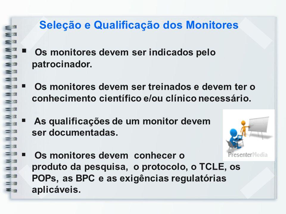 Seleção e Qualificação dos Monitores