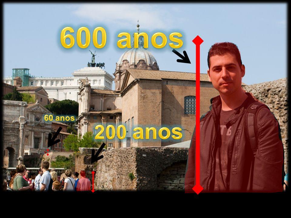 600 anos 60 anos 200 anos