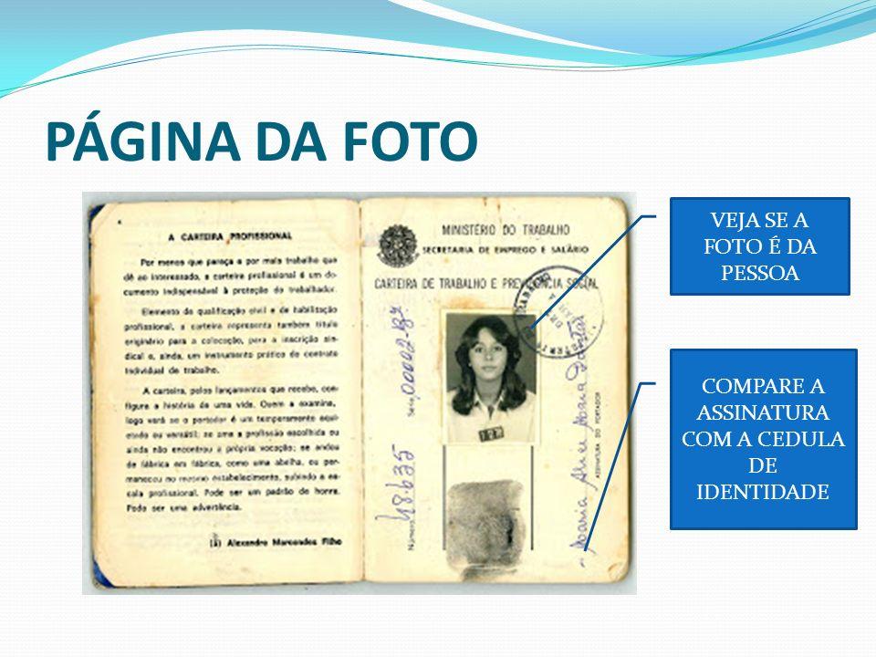 PÁGINA DA FOTO VEJA SE A FOTO É DA PESSOA