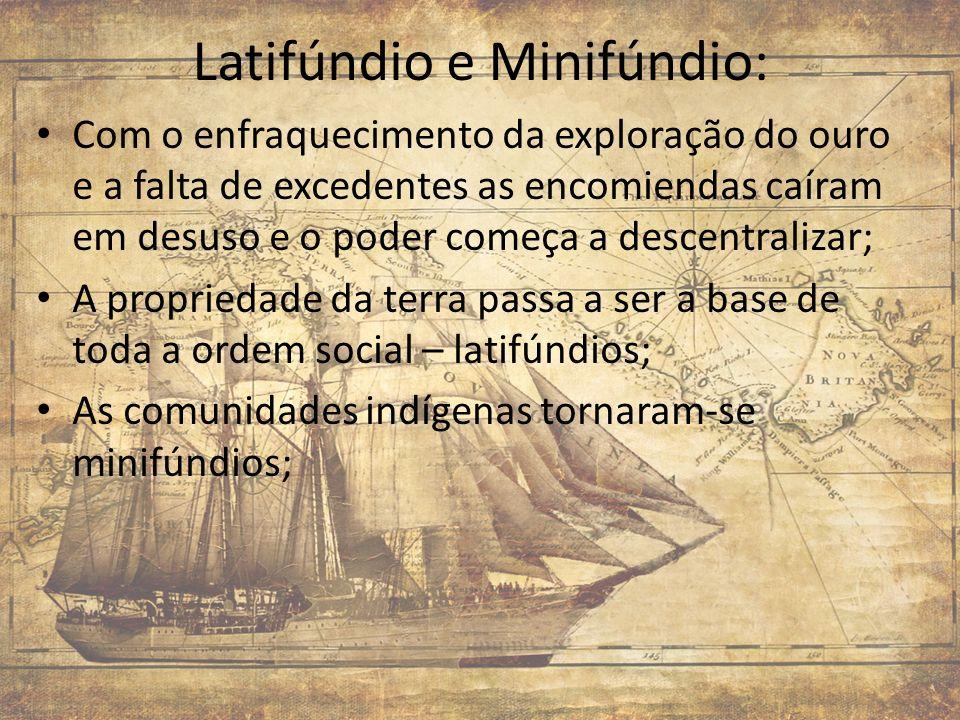 Latifúndio e Minifúndio: