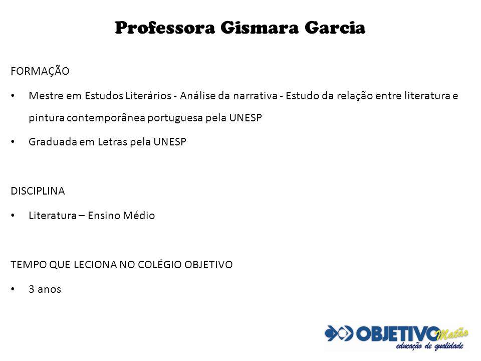 Professora Gismara Garcia