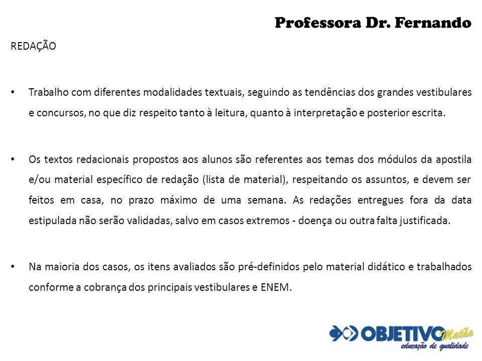 Professora Dr. Fernando