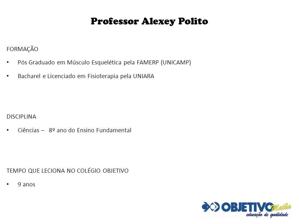 Professor Alexey Polito
