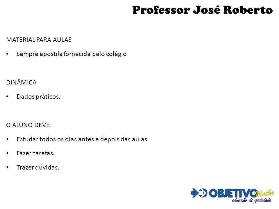 Professor José Roberto