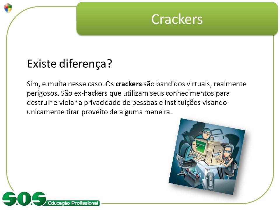Crackers Existe diferença