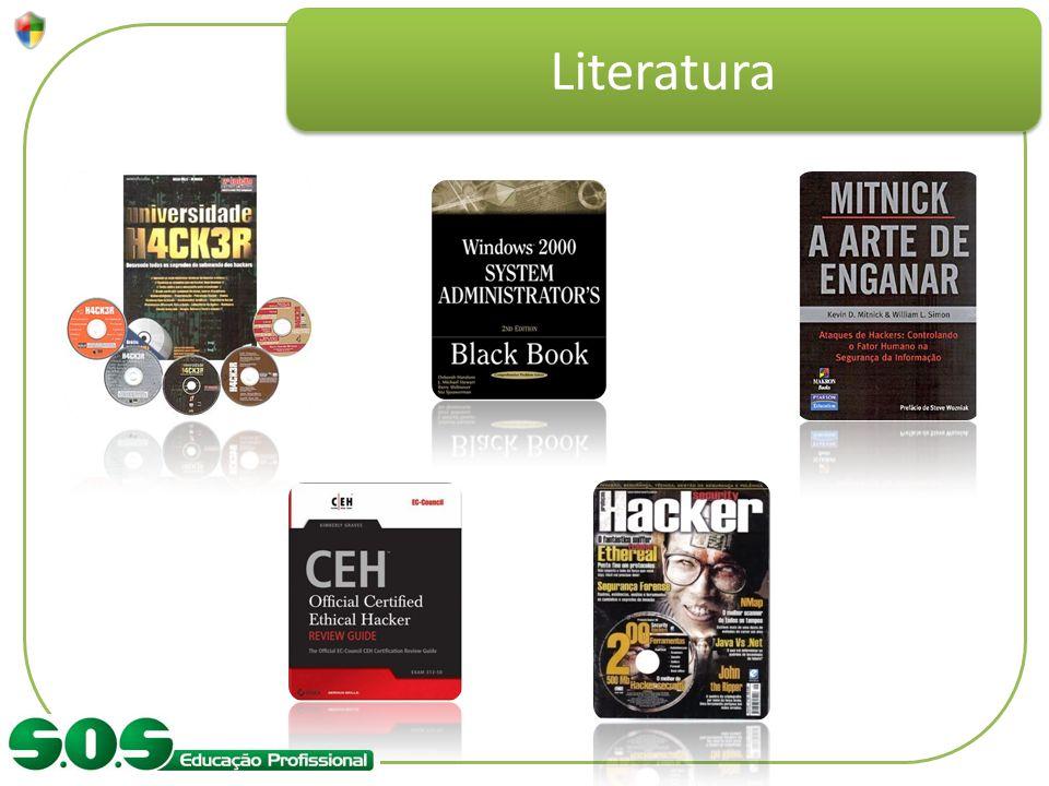 Literatura Comparar os materiais de referência.