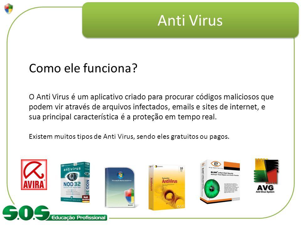 Anti Virus Como ele funciona