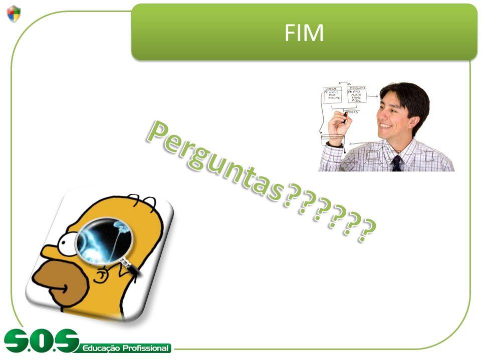 FIM Perguntas Se prepare e responda as perguntas.