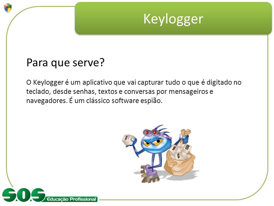 Keylogger Para que serve