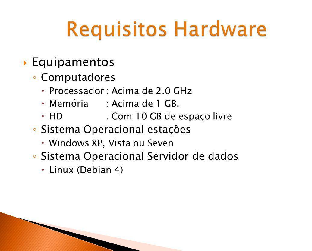 Requisitos Hardware Equipamentos Computadores