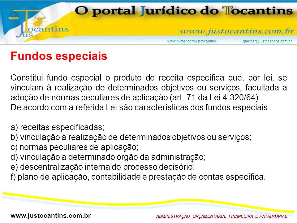Fundos especiais