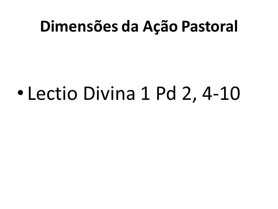 Dimensões da Ação Pastoral