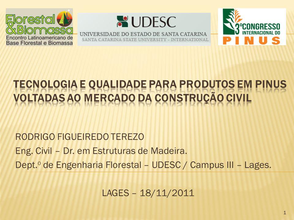 Tecnologia e Qualidade para Produtos em Pinus voltadas ao Mercado da Construção Civil