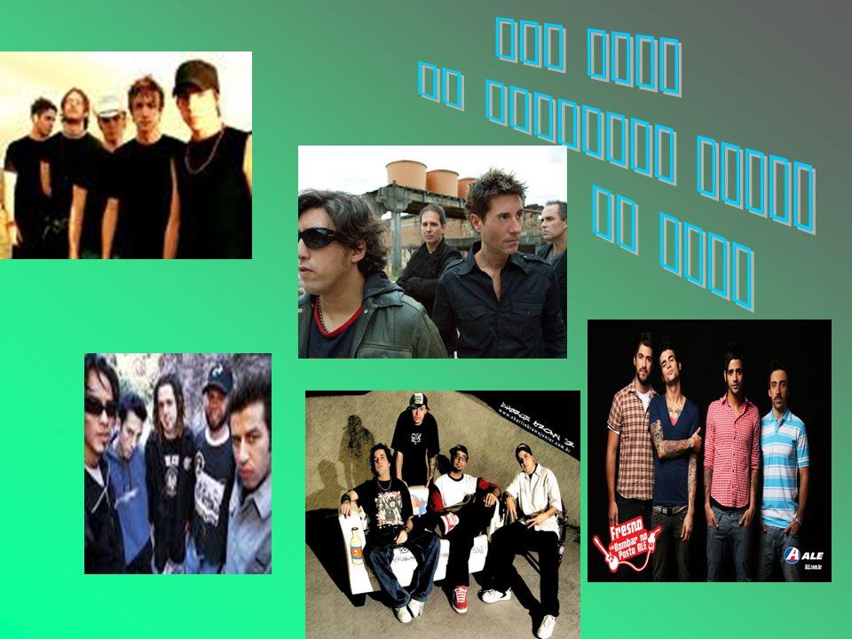 TOP FIVE As melhores banda de rock