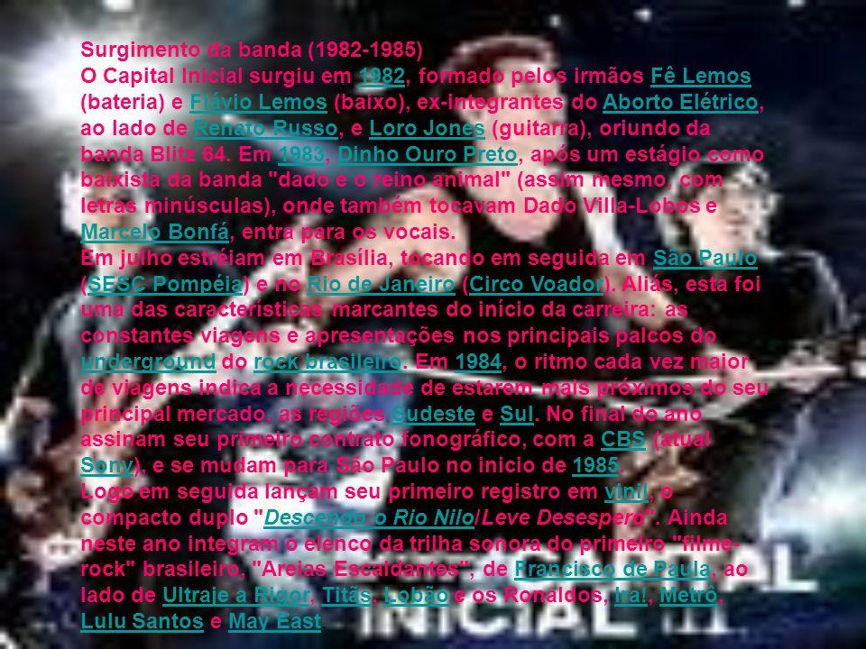 Surgimento da banda (1982-1985)