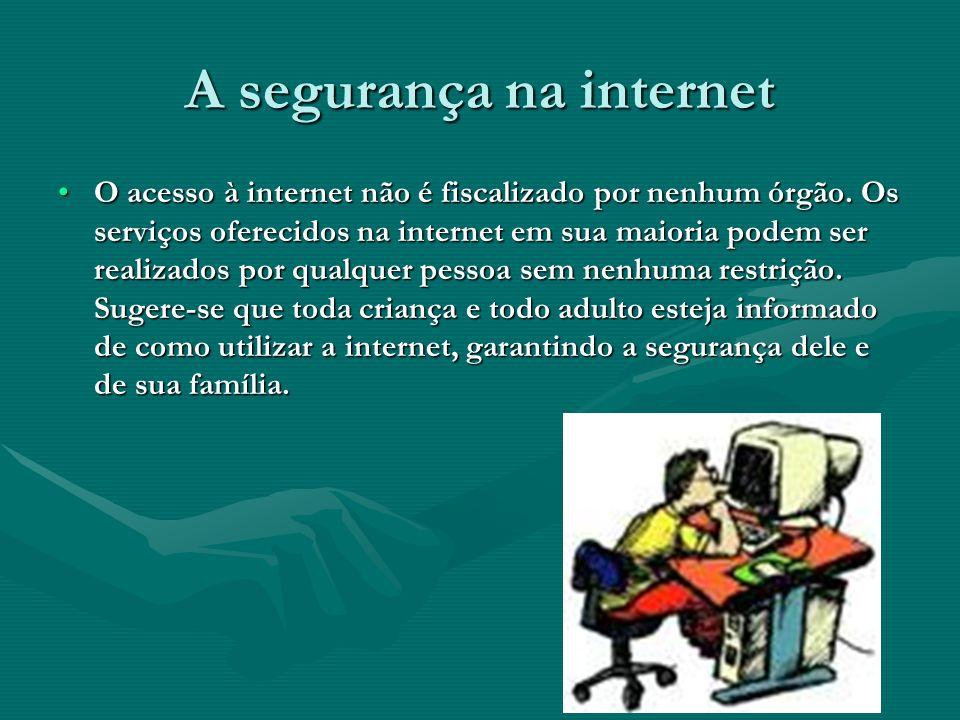 A segurança na internet