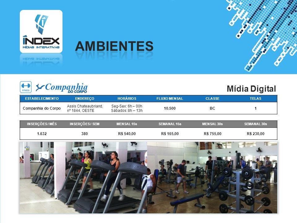 AMBIENTES Mídia Digital Companhia do Corpo Assis Chateaubriand,