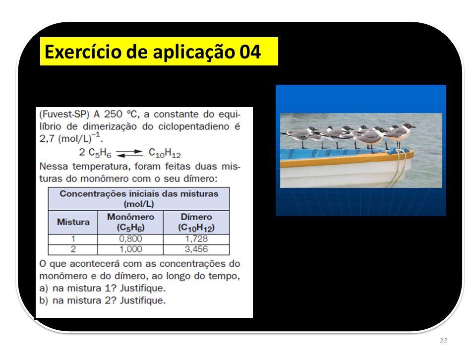 Exercício de aplicação 04