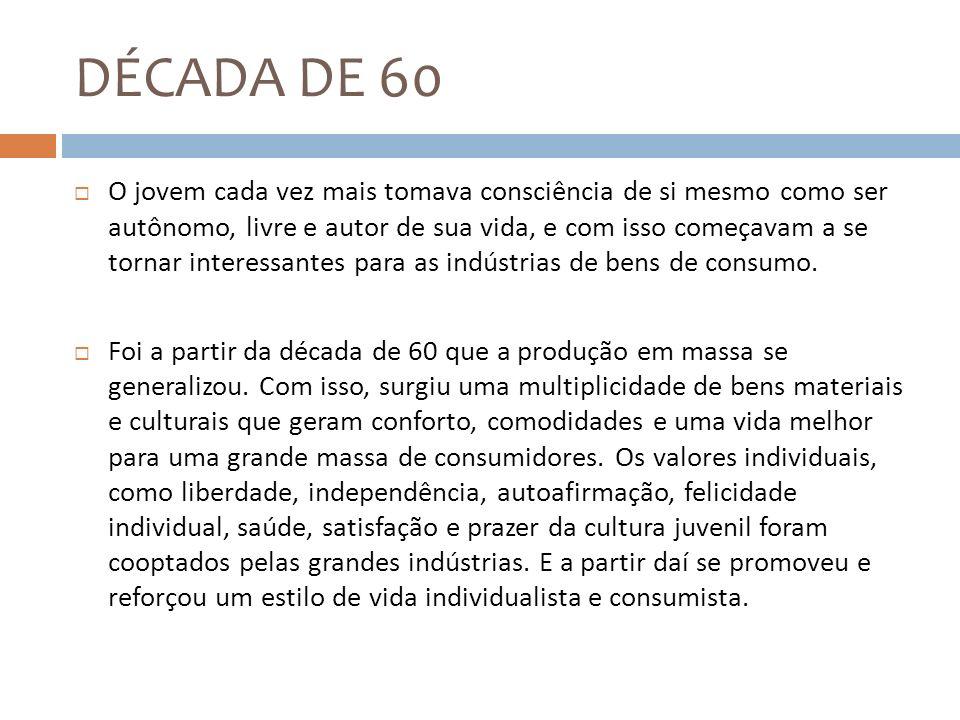 DÉCADA DE 60