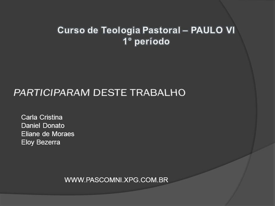 PARTICIPARAM DESTE TRABALHO