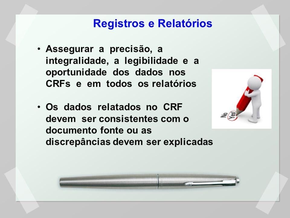 Registros e Relatórios