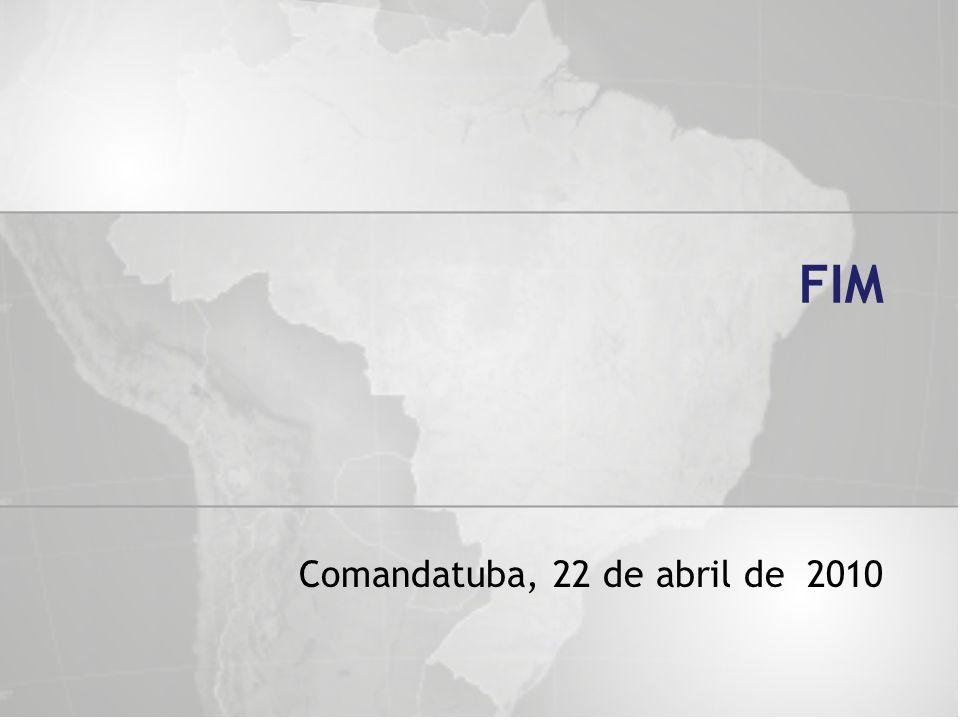 FIM Comandatuba, 22 de abril de 2010