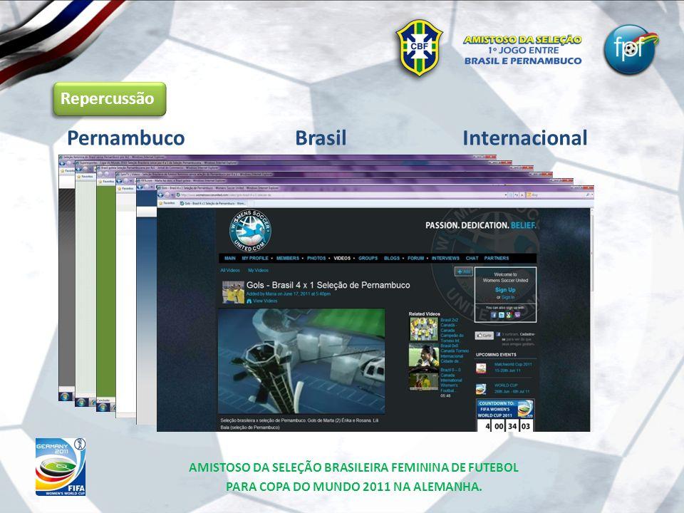Pernambuco Brasil Internacional